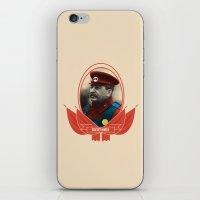 soviet iPhone & iPod Skins featuring Soviet Mario by Dogan Kilinc