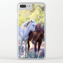 I've Got A Secret Clear iPhone Case