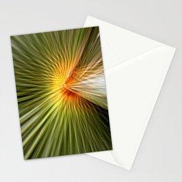Palm leaf zoom Stationery Cards