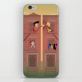 The Nick Yorkers in April iPhone Skin