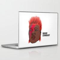 biggie Laptop & iPad Skins featuring Biggie Stardust by Chris Piascik