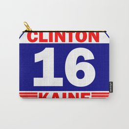 Hillary clinton tim k Carry-All Pouch