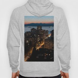 English Bay Sunset Hoody