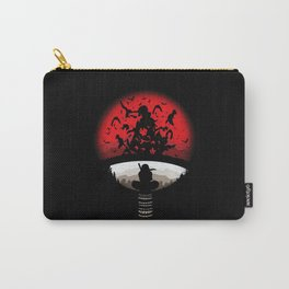 Itachi uchiha red moon naruto Carry-All Pouch