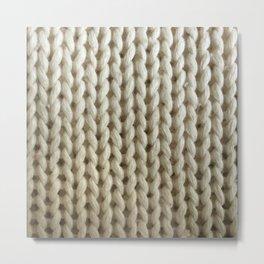 knitwit Metal Print