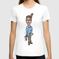 brad pitt T-shirts featuring Edward Norton and Brad Pitt as Tyler Durden in...  The Fight Club Cartoon!  by beetoons