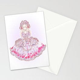 Romantic Rose Letter Stationery Cards