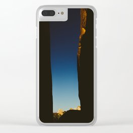 Slot Canyon Clear iPhone Case