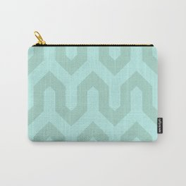 Light & Turquoise Carry-All Pouch