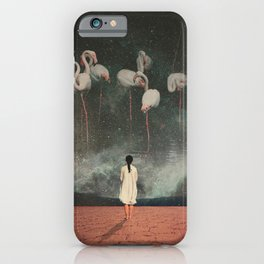 Hanging on to a Dream iPhone Case