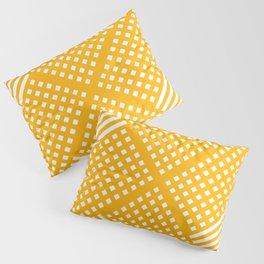 Abstract geometric yellow Pillow Sham