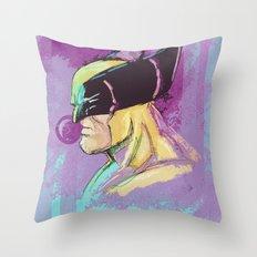 BUBalicious Wolverine Throw Pillow
