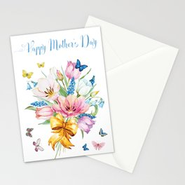 Mother's Day - Spring Bouquet Stationery Cards