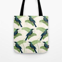 Tui Birds Tote Bag
