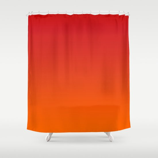 Sunset Ombre Shower Curtain