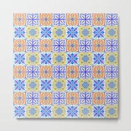 Patterned Tiles no 2 Metal Print