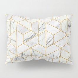 Marble hexagonal pattern Pillow Sham