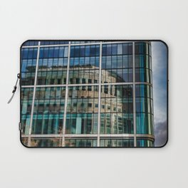 London Photography Canary Wharf Reuters Laptop Sleeve