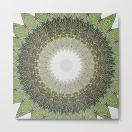 New Color Pyramidal Mandala 39 Metal Print