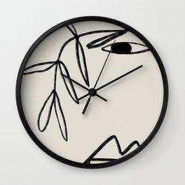 PLANT PORTRAIT Wall Clock