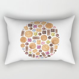 Sweets and Candy. Rectangular Pillow