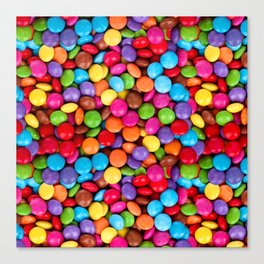 A Handful of Candy Canvas Print
