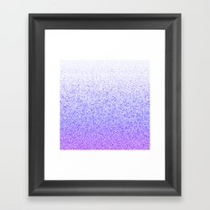 I Dream in Purple Framed Art Print