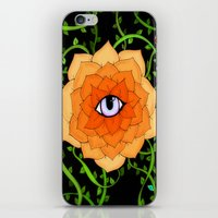 chakra iPhone & iPod Skins featuring Sacral Chakra by DuckyB