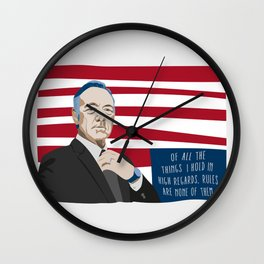 Rules Are None Of Them Wall Clock