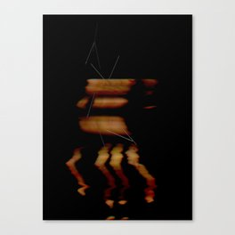 Hands Falling Down Canvas Print