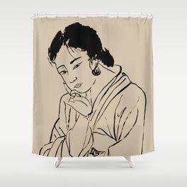 Lady Elegance Shower Curtain