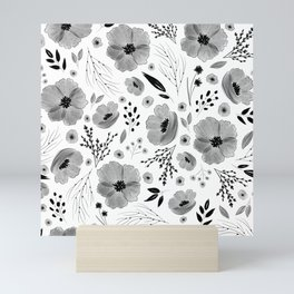 Lovely Little Floral Pattern Mini Art Print