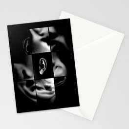 Body listen Stationery Cards
