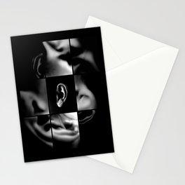 Body listen Stationery Cards
