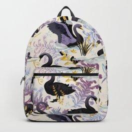 Black swans | off white Backpack