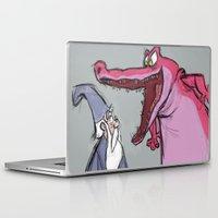 merlin Laptop & iPad Skins featuring merlin fan art by Alice-Spicuzza