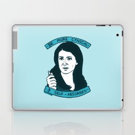 BE MORE CYNICAL AND SELF-ABSORBED Laptop & iPad Skin