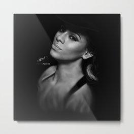Dinah Jane Hansen 'Reflection' Digital Painting Metal Print