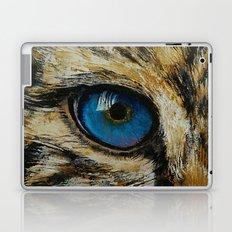 Leopard Eye Laptop & iPad Skin