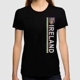 Ireland Flag Soccer Jersey Style T-shirt