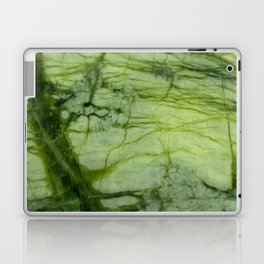 Green Marble Laptop & iPad Skin