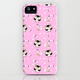 Edna in Cupid is Stupid iPhone Case