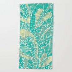 Schismatoglottis Calyptrata – Mint Palette Beach Towel