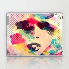 Abstract girl Laptop & iPad Skin