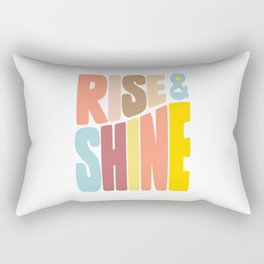 Rise & Shine Rectangular Pillow