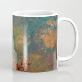 "Odilon Redon ""The Chariot of Apollo"" Coffee Mug"