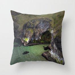 Carrick-a-Rede Throw Pillow