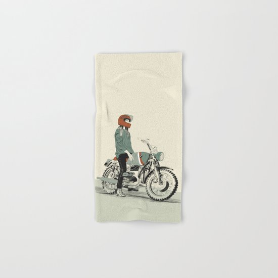 The Woman Rider Hand & Bath Towel