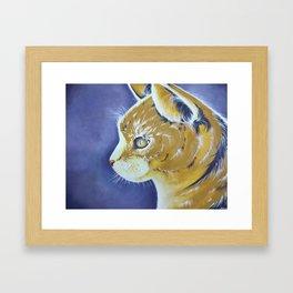 Pop art - Cat Framed Art Print