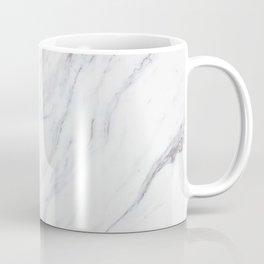 Pure-White-Marble Coffee Mug